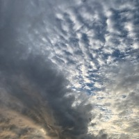 #WordlessWednesday ~ The #Sky This Morning #Nature #Photography