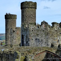 #SilentSunday ~ Conwy Castle #Ruins #Medieval #Historic #photography